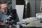 Iconic scenes in The Mandalorian were filmed using a Canon 5D Mark III and Nikon lens