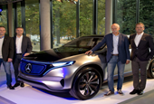 All-electric Mercedes-Benz EQ will go on sale by 2020