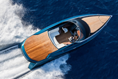 The AM37 is literally the Aston Martin of boats