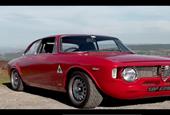 This modernized Alfa Romeo Giulia Sprint looks great, sounds even better
