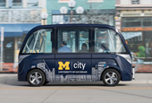 Autonomous shuttles start this fall at University of Michigan