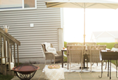 Modern, Eclectic Patio That is Perfect for Entertaining
