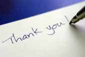 Why A Thank You Note is Important