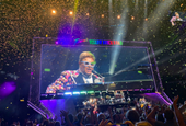 Peex let me remix augmented reality sounds at Elton John's concert