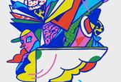 Colorful illustrations by Nadine Kolodziey
